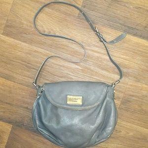 Marc Jacobs Natasha Crossbody Flap Bag Gray